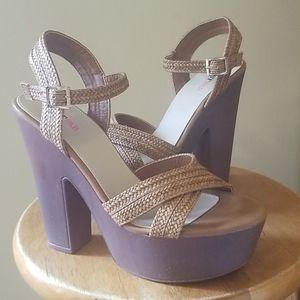 JustFab Sandals Size 8.5